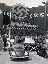December 1938: Adolf Hitler (1889-1945), German politician, inaugurates the Volkswagen factory (80 years ago)