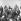 Andrei Gromyko (1909-1989), ministre des Affaires étrangères soviétiques, arrivant à l'aéroport Schwechat. A côté de lui, Bruno Kreisky (1911-1990), homme politique autrichien. Vienne, 1975.  © Imagno / Roger-Viollet