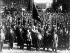 Révolution russe. Manisfestants communistes dans les rues de Petrograd (Saint-Petersbourg, Russie), 1er mai 1917.  © Imagno/Roger-Viollet