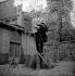 Salvador Dali (1904-1989), Spanish painter. 1956. © Bernard Lipnitzki / Roger-Viollet