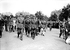 World War II. Liberation of Paris. French Generals de Gaulle, Koenig, Leclerc and Juin, place de l'Etoile. Paris, on August 26, 1944. © Roger-Viollet
