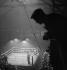 Boxing match. France, circa 1937-1938. © Gaston Paris / Roger-Viollet