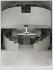 Deux volées d'escaliers et deux ascenseurs, Opéra Bastille, architecte Carlos Ott, Paris (XIIème arr.). 1989. Photographie de Felipe Ferré. Paris, musée Carnavalet.  © Felipe Ferré / Musée Carnavalet / Roger-Viollet