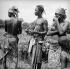 Duwari women (Upper-Dahomey, present Benin), circa 1960.  © Roger-Viollet