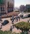 Algerian War (1954-1962). Procession of General Charles de Gaulle in front of the Grande Poste (post office). Algiers (Algeria), on June 4, 1958. © Roger-Viollet