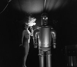 """Striptease: """"the robot"""". © Gaston Paris / Roger-Viollet"""