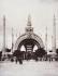 The Architecture for the 1900 World Fair in Paris: the monumental gate, plate XX (Champs-Elysées - overview). Musée des Beaux-Arts de la Ville de Paris, Petit Palais.  © Petit Palais/Roger-Viollet