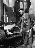 Automobiles. Stub axle and steam hammer with oil-jet Citroën car factory. Clichy (France), 1931-1934. Photograph by François Kollar (1904-1979). Paris, Bibliothèque Forney. © François Kollar/Bibliothèque Forney/Roger-Viollet