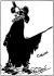 """Cyrano de Bergerac"". Dessin par Edmond Rostand. © Roger-Viollet"