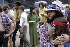 Participants au festival de Woodstock. Bethel (Etats-Unis), août 1969.  © Tom Miner / The Image Works / Roger-Viollet
