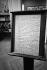Manuscrit à l'intérieur de la maison de Sigmund Freud (1856-1939), psychanalyste autrichien, 19 Bergasse à Vienne (Autriche). © Roger-Viollet