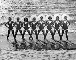 Femmes en maillots de bain à Daytona Beach, Floride (Etats-Unis), février 1957. © Ullstein Bild/Roger-Viollet