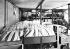 Fabrication de la margarine. La margarine avant son empaquetage. France, 1953. © Jacques Boyer/Roger-Viollet