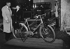 Electric bike in Galeries Lafayette. Paris, february 1941. © LAPI/Roger-Viollet