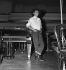 Henri Salvador (1917-2008), French singer. Paris, October 7, 1950. © Roger Berson/Roger-Viollet