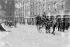 Scène de rue après l'insurrection de Pâques 1916. Dublin (République d'Irlande).  © TopFoto / Roger-Viollet