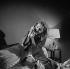 """""""La Voix humaine"""", de Francis Poulenc. Jane Rhodes. Paris, Opéra-Comique, octobre 1968. © Studio Lipnitzki / Roger-Viollet"""