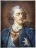 """Christophe Le Blon. """"Portrait de Louis XV"""". Gravure. Musée des Beaux-Arts de la ville de Paris, Petit Palais. © Petit Palais/Roger-Viollet"""