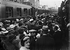 World war II. Exodus. Paris, gare Montparnasse. 1940. © LAPI/Roger-Viollet