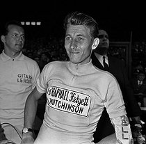 Jacques Anquetil (1934-1987), French racing cyclist. Winner of the Tour de France in 1962. © Roger-Viollet
