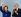 John Major (né en 1943), Premier ministre britannique, applaudissant Margaret Thatcher (1925-2013), ancien Premier ministre britannique, lors de son arrivée à une conférence du Parti conservateur. Blackpool (Angleterre), 9 septembre 1991. © TopFoto / Roger-Viollet
