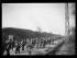 "Spanish Civil War (1936-1939). ""La Retirada"". Spanish Republican militiamen heading to Le Boulou camp (France), February 1939. Photograph from the Excelsior newspaper. © Excelsior - L'Equipe / Roger-Viollet"