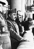 José Moscardó Ituarte (1878-1956), général espagnol, Francisco Franco et Ramón Serrano Súñer (1901-2003), ministre de l'Intérieur espagnol, lors de la cérémonie de l'Association des Nationalistes. Saragosse (Espagne), 26 avril 1938. © Ullstein Bild / Roger-Viollet