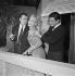 """L'Aventurière des Champs-Elysées"", film de Roger Blanc. Tilda Thamar et Gamil Ratib. France, 1954. © Alain Adler / Roger-Viollet"