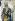 """Attribué à Giacomo Jaquerio (v.1375-1453). """"Charlemagne"""". Détail d'une fresque, 1418-1430. Château de Manta (Italie). © Alinari/Roger-Viollet"""