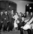 Gala de l'Union des Artistes, charity circus performed by artists. Jean-Louis Barrault, Madeleine Renaud, French actors and Boris Vian, French writer, Paris, April 1949. © Studio Lipnitzki/Roger-Viollet