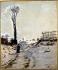 Armand Guillaumin (1841-1927). Snowy path, 1869. Paris, musée d'Orsay.    © Roger-Viollet