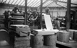 Russian printing house. Rotary presses. Paris, 1927. © Boris Lipnitzki/Roger-Viollet