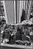 Construction d'immeubles à la place des pavillons et des jardins. Rue Pierre Semard, Bobigny (Seine-Saint-Denis), 1970. Photographie de Léon Claude Vénézia (1941-2013). © Léon Claude Vénézia/Roger-Viollet