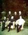 Guerre 1939-1945. Truman, Staline & conseiller. Potsdam, 2 août 1945. © Bilderwelt/Roger-Viollet