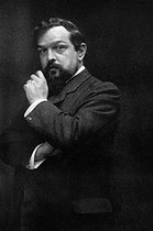 Claude Debussy (1862-1918), French composer. © Collection Roger-Viollet / Roger-Viollet