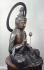 Kannon en bronze, Japon, période Edo, 1600-1867. Paris, musée Cernuschi. © Lyliane Degrâces/Musée Cernuschi/Roger-Viollet