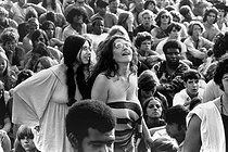 Festival de Woodstock. Bethel (New York, Etats-Unis), 15-18 août 1969. © Jason Laure / The Image Works / Roger-Viollet