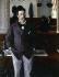 """Gustave Caillebotte (1848-1894). """"Au café"""". Musée de Rouen. © Roger-Viollet"""