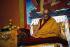 Le Dalaï-lama (né en 1935), chef religieux des Tibétains, entre le 30 novembre et le 3 décembre 2001. © Alinari / Roger-Viollet