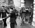 Procès de participants à l'attaque du train postal Glasgow-Londres, dirigée par Ronald Arthur Biggs (Ronnie, 1929-2013). Tribunal de Linslade (Angleterre), 16 août 1963. © TopFoto / Roger-Viollet
