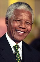 February 11, 2020: 30th anniversary of the release of Nelson Mandela (1918-2013), South African politician and leader of the Congress