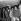 Michael Jackson et les Jackson Five. De g. à dr. : Marlon, Jackie, Michael, Randy et Tito. Aéroport de Londres (Angleterre), 21 février 1970. © PA Archive / Roger-Viollet