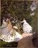 Claude Monet (1840-1926). Women in the garden, 1866-1867. Paris, musée d'Orsay. © Roger-Viollet