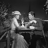 """Christine"", film de Pierre Gaspard-Huit. Romy Schneider et Alain Delon. France-Italie, 1958. © Alain Adler / Roger-Viollet"