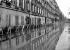 Floods of Paris in 1910. A footbridge, rue Fabert (VIIth arrondissment). © Jacques Boyer/Roger-Viollet