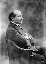 Edmond Rostand (1868-1918), French poet and dramatist, in 1905. © Roger-Viollet