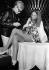 Andy Warhol (1928-1987), artiste et cinéaste américain, et Leigh Taylor-Young (née en 1945), actrice américaine, 1969. © Ullstein Bild / Roger-Viollet