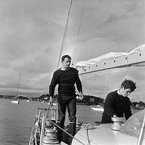 13/06/2018 (20 years ago) Eric Tabarly (1931-1998), French navigator, disappeared at sea © Jacques Cuinières / Roger-Viollet