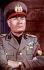 Benito Mussolini (1883-1945), homme d'Etat italien, en 1940.     © Roger-Viollet