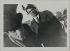 """Jean Cocteau (1889-1963). """"Léonide Massine et Picasso à Naples"""". Tirage au gélatino-bromure d'argent. mars 1917. Bibliothèque historique de la Ville de Paris. © BHVP/Roger-Viollet"""